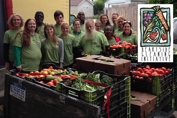 Heartside Gleaning Initiative Awarded first $10,000 in Egan's Community Giveaway