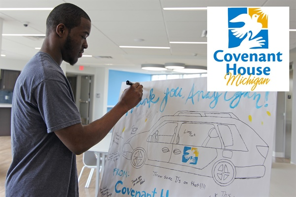 Covenant House Michigan Grand Rapids Campus Seeks to Remove Transportation Barriers for Residents with $10,000 Gift from Egan's $100k Community Giveaway